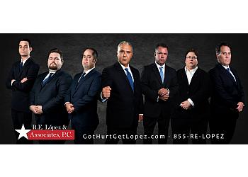 Plano personal injury lawyer R. E. López & Morales, P.C.