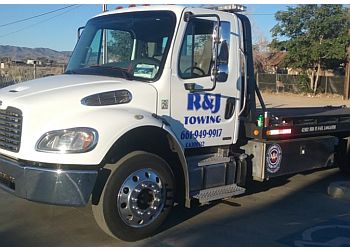 Lancaster towing company R & J Towing
