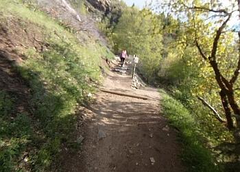 West Jordan hiking trail ROCKY MOUTH FALLS TRAIL