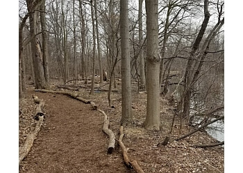 Dearborn hiking trail ROUGE RIVER GATEWAY NATURAL AREA