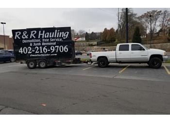 Omaha junk removal R & R HAULING