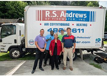 Chesapeake hvac service RS Andrews of Tidewater