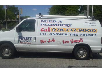 Lowell plumber Raby Plumbing