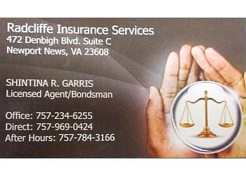 Newport News bail bond Radcliffe Insurance & Bail-bonds Service