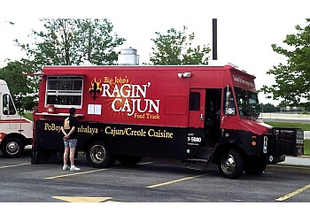 Fort Wayne food truck Ragin Cajun Food Truck