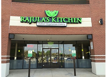 Plano vegetarian restaurant Rajula's Kitchen