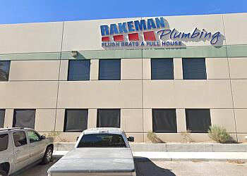 North Las Vegas plumber Rakeman Plumbing