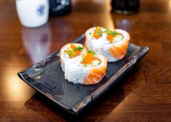 Roseville sushi Raku Sushi
