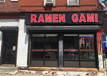 Newark japanese restaurant Ramen Gami