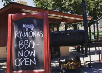 Visalia barbecue restaurant Ramona's Barbeque