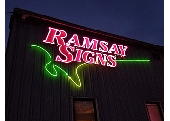 Portland sign company Ramsay Signs