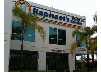 San Diego event rental company Raphael's Party Rentals