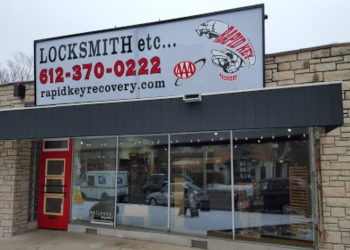 Minneapolis locksmith Rapid Key Recovery Inc.