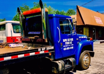Chattanooga towing company Rapid Response Towing & Road Service LLC