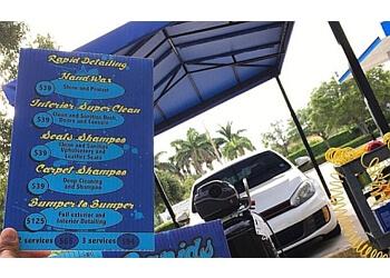 Pembroke Pines auto detailing service Rapids Car Wash