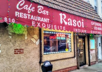 Jersey City indian restaurant Rasoi Restaurant