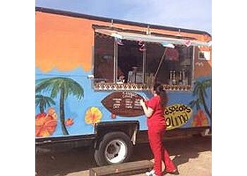 Lubbock food truck Raspados Colimas