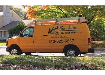Minneapolis hvac service Ray N. Welter Heating company