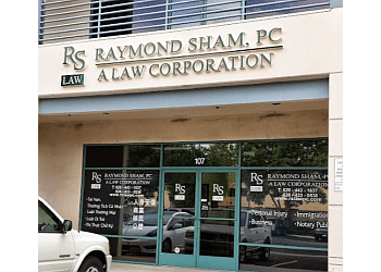 El Monte personal injury lawyer Raymond Sham, PC