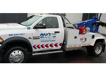 Eugene towing company Ray's Towing