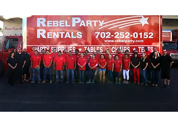 Las Vegas event rental company Rebel Party Rentals