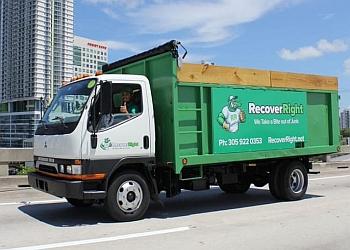 Miami junk removal Recover Right Junk Removal