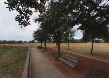 Abilene public park Red Bud Park
