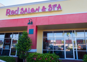Cape Coral hair salon Red Salon & Spa