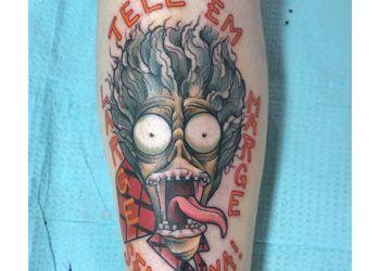 Springfield tattoo shop Redbird Electric Tattooing