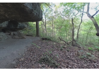 Tulsa hiking trail Redbud Valley Nature Preserve