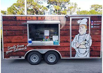 Port St Lucie food truck Reds Kitchen