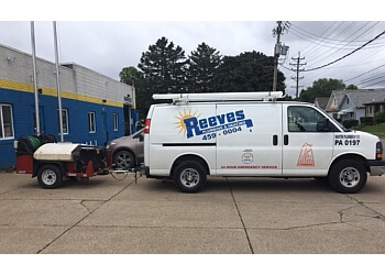 Erie plumber Reeves Plumbing & Heating Serves