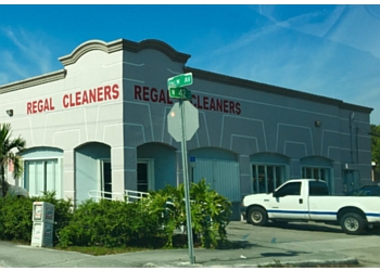 Hialeah dry cleaner Regal One Hour Cleaners