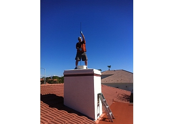Glendale chimney sweep Reliable Chimney Sweep