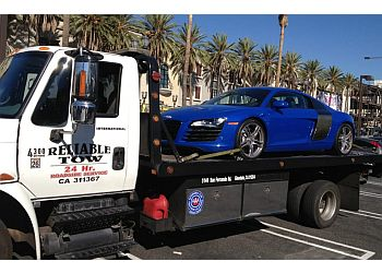 Glendale towing company Reliable Tow