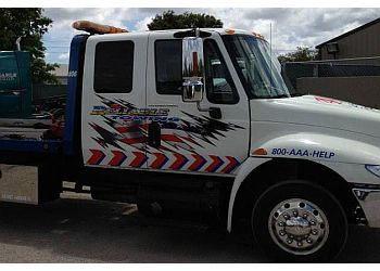 Port St Lucie towing company Reliable Towing