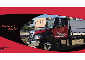 Garland towing company Reliable Towing & Wrecker Service