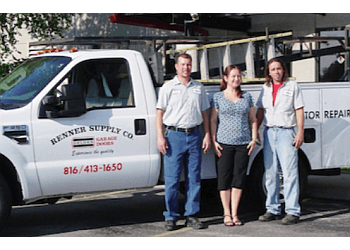 Kansas City garage door repair Renner Supply Company