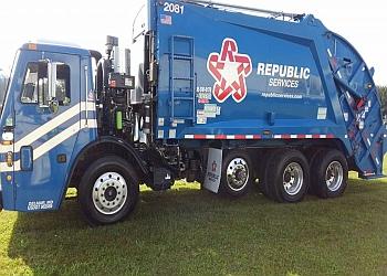 Lexington junk removal Republic Services