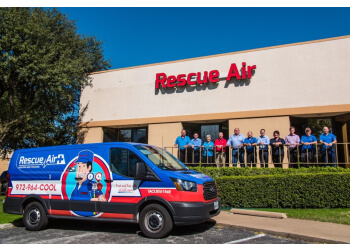 Richardson hvac service Rescue Air Heating and Cooling