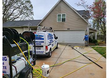 Winston Salem window cleaner Resurrected Professional Services LLC
