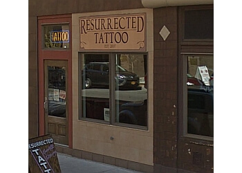 Syracuse tattoo shop Resurrected Tattoo
