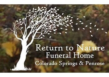 Colorado Springs funeral home Return to Nature Funeral Home