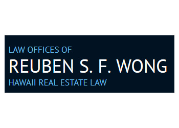 Honolulu real estate lawyer Law Offices of Reuben S. F. Wong