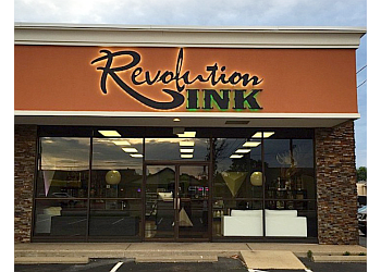 Evansville tattoo shop Revolution Ink Studio