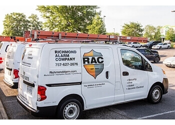 Chesapeake security system Richmond Alarm Companies