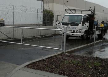 Modesto fencing contractor Richter Fence Inc.