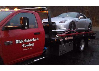 Cincinnati towing company Rick Schaefer's Towing