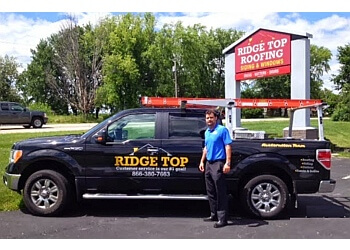 Madison roofing contractor Ridge Top Exteriors