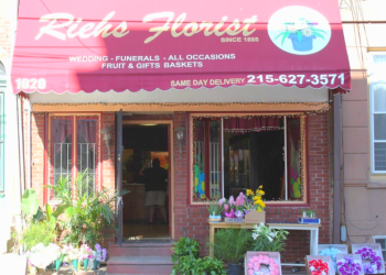 Philadelphia florist Riehs Florist